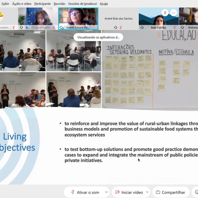 Portuguese TWIST Workshop presents Lisbon Living Lab