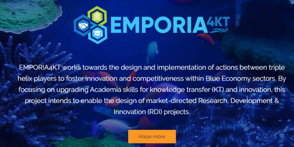 Launch of EMPORIA4KT Blue Economy Technology Transfer Training Programme